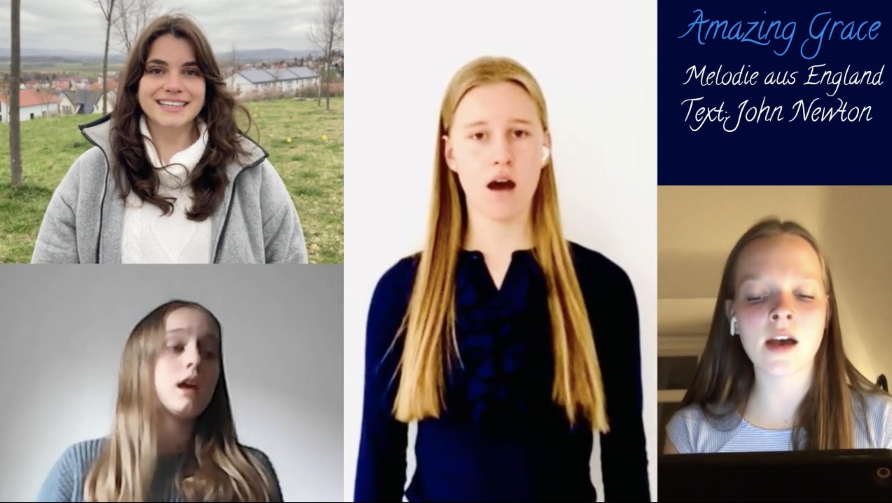 Singen gegen die Pandemie! <br />Der Chor präsentiert: Amazing Grace